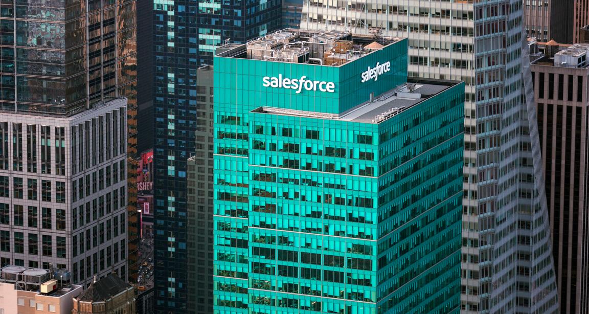 Salesforce: Empresa que mais cresce em transformação digital