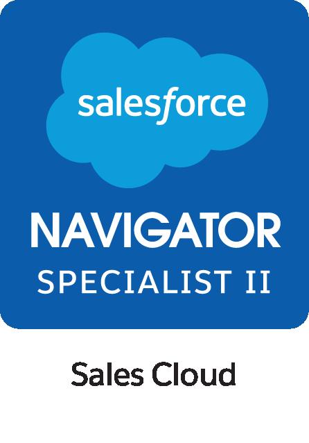 Selo Navigator Specialist II Sales Cloud