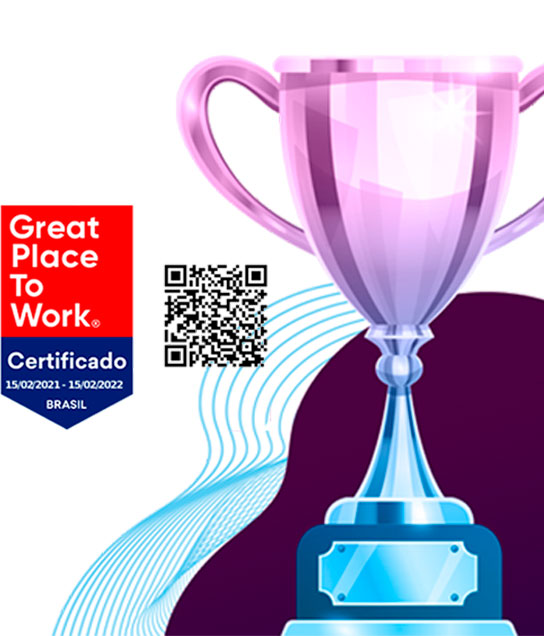 Somos Great Place to Work em 2021